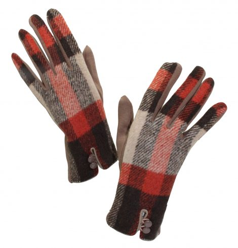 A photo of the Autumn Plaid Gloves product