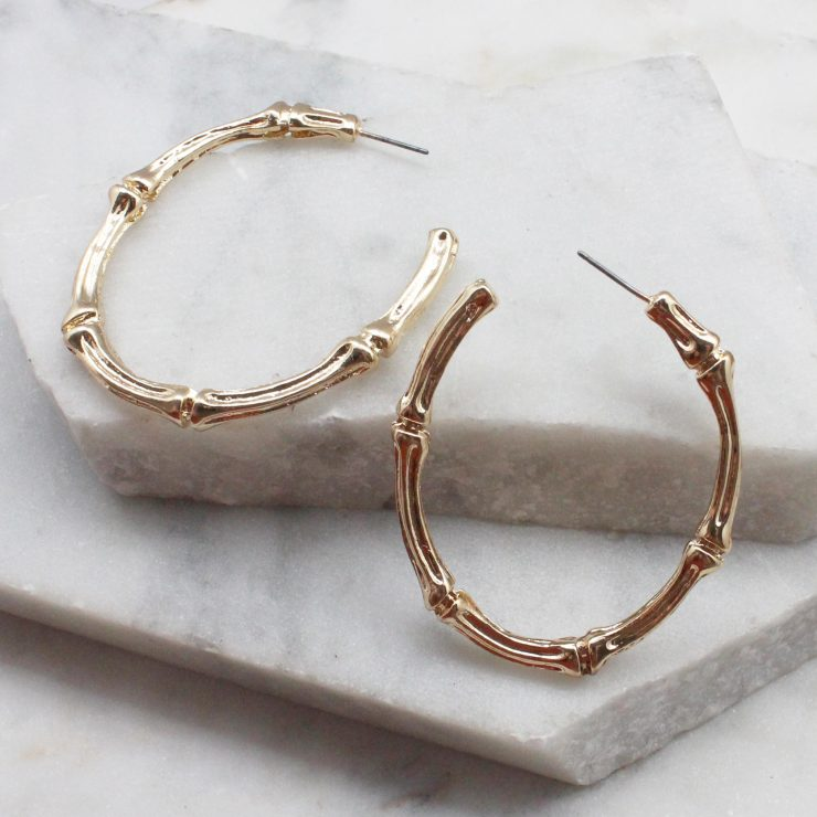 A photo of the Bamboo Hoops product