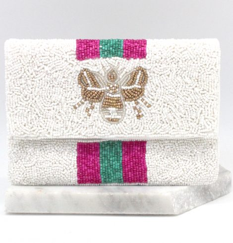 A photo of the Bee Beautiful Mini Clutch product