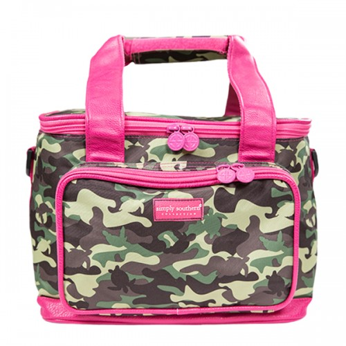 A photo of the Camo Print Cooler Bag product