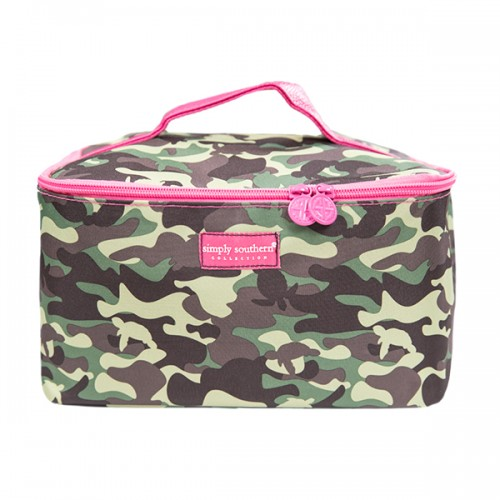 A photo of the Camo Print Glam Bag product