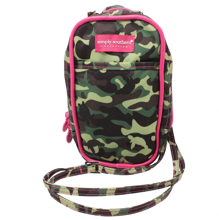 A photo of the Camo Phone Cross Body Bag product