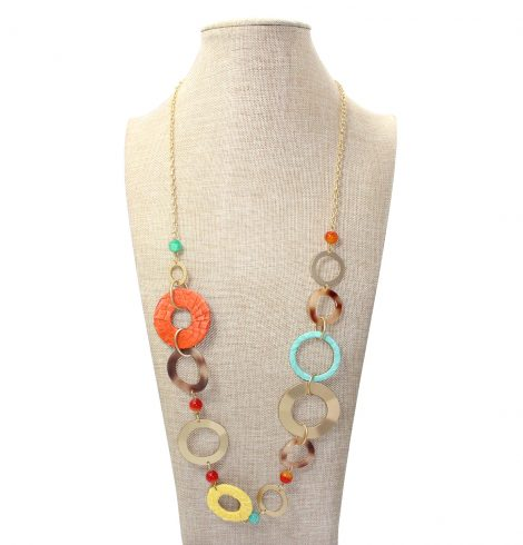 A photo of the Citrus Grove Necklace product