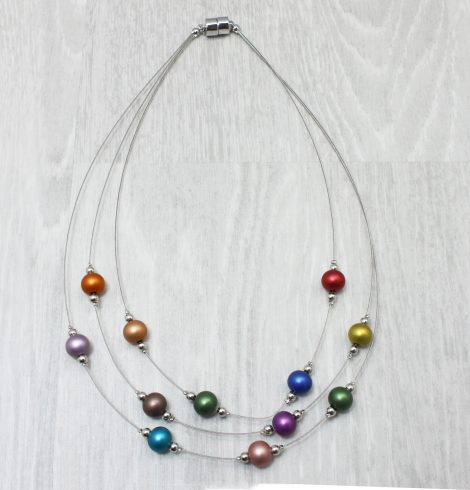 A photo of the Colorful Harmony Necklace product