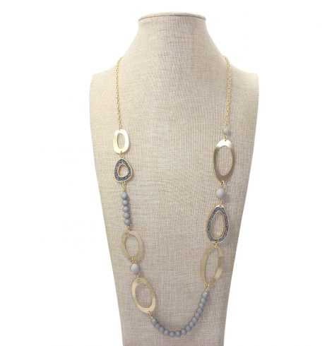 A photo of the Druzy Days Necklace product