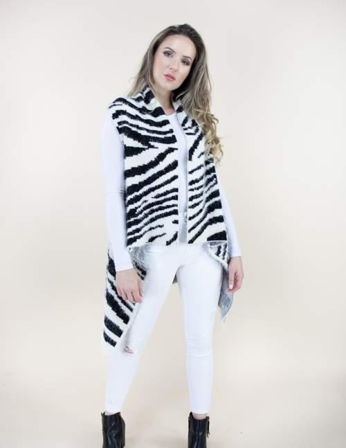 A photo of the Zebra Eyelash Vest product