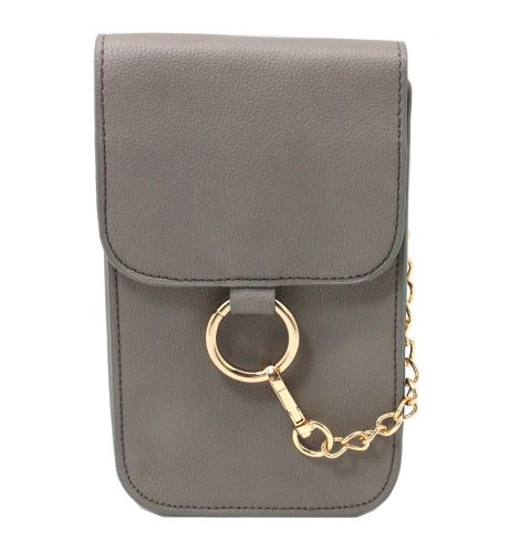 Fenced in Purse in Grey