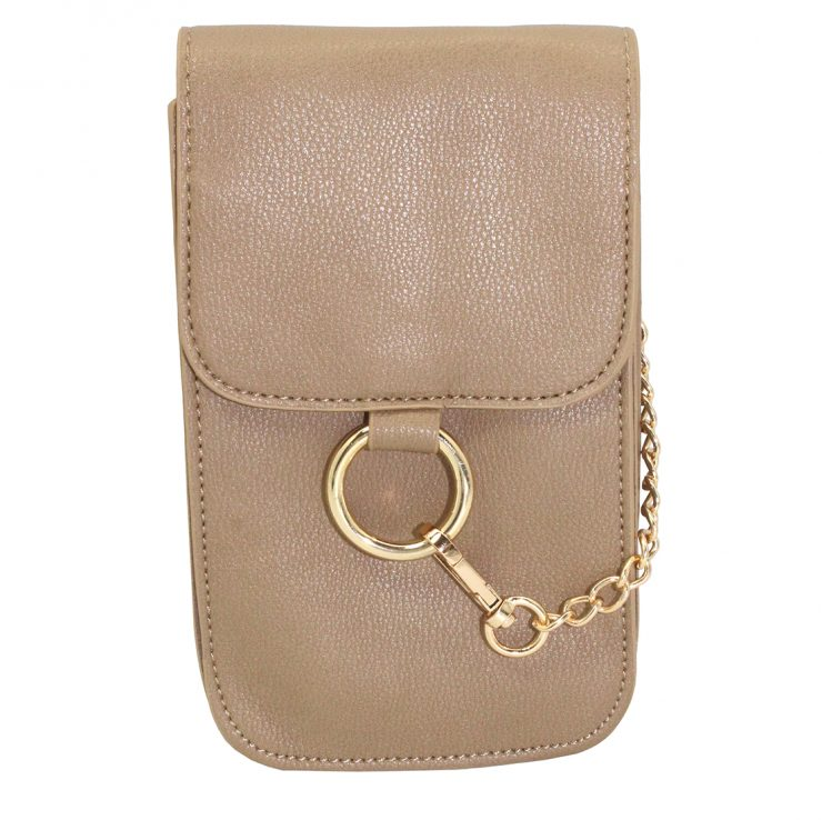 A photo of the Fenced in Purse in Grey product