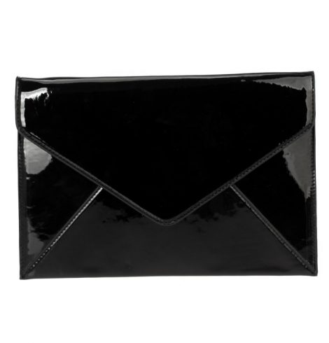 A photo of the Find the Words Clutch in Black product