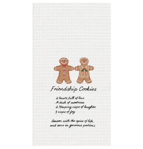 A photo of the Friendship Cookies Towel product
