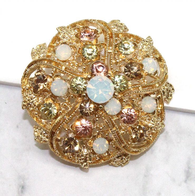 A photo of the Gilded Brooch product