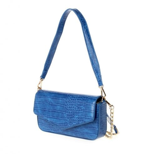 A photo of the Heart of It All Bag in Blue product