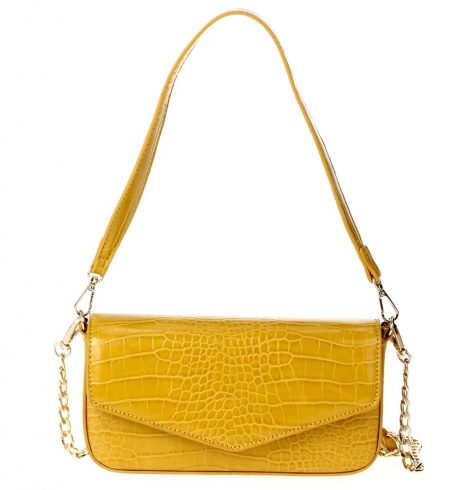 Heart of it All Bag in Mustard