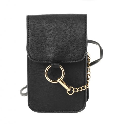 A photo of the Fenced in Purse in Black product