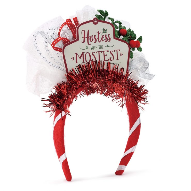 A photo of the Holiday Hostess Headband product