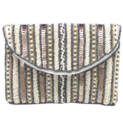 A photo of the Mini Pearl Beaded Bag product
