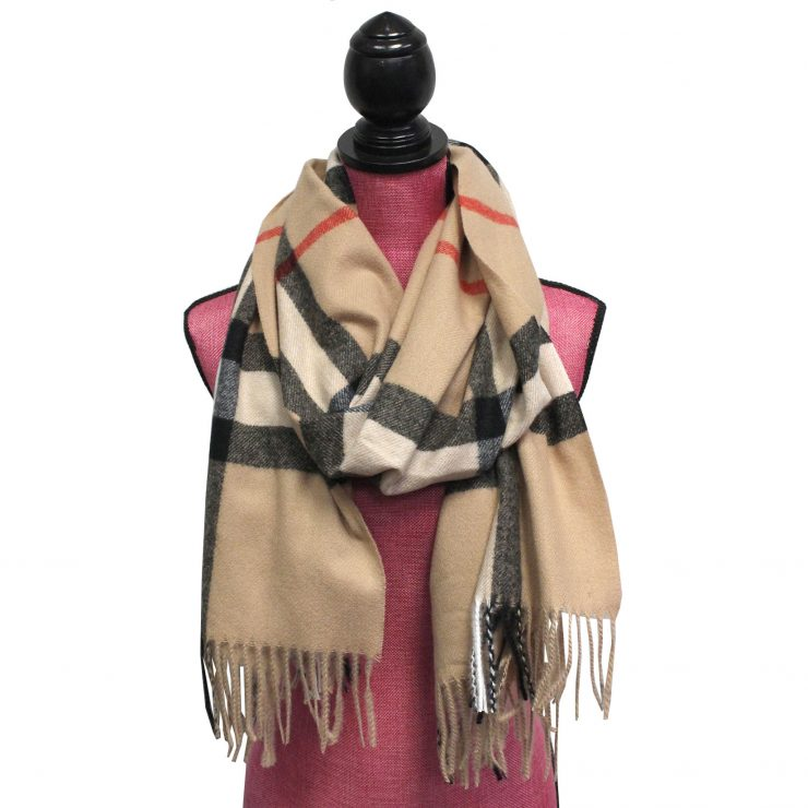 A photo of the Perfection Plaid Scarf product