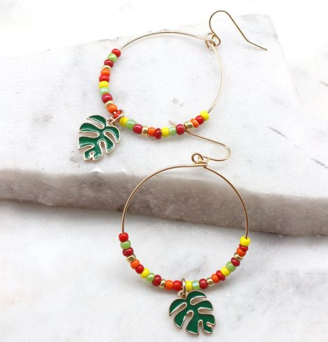 A photo of the Relaxing Times Earrings product