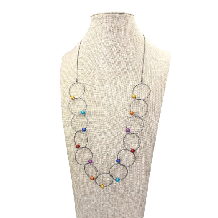 A photo of the Rosa Necklace product