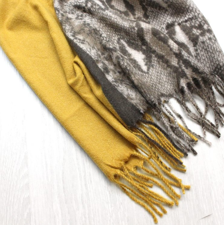 A photo of the Scales Duo Scarf product