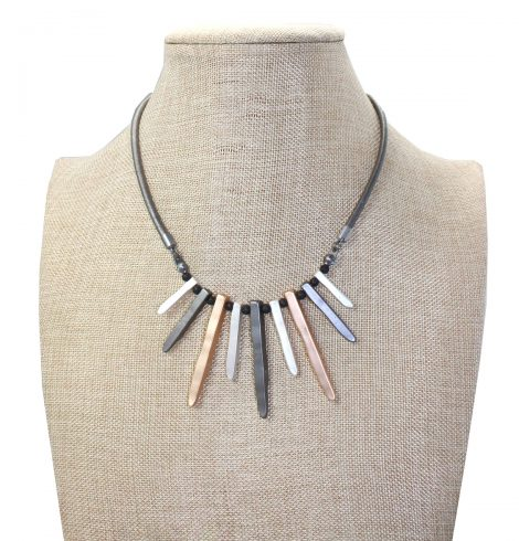 A photo of the That's The Point Necklace product