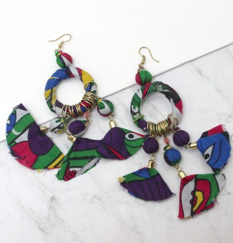 A photo of the Tropical Vibes Earrings product