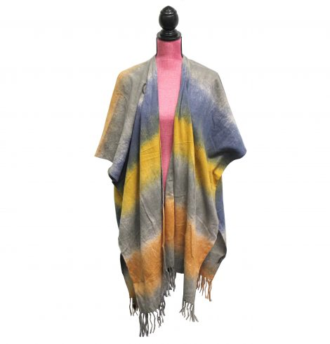 A photo of the Tie Dye Kimono product