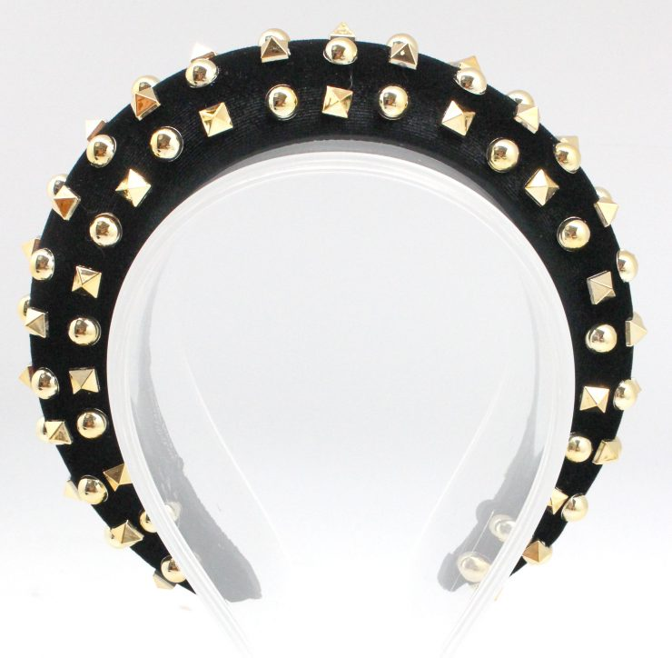 A photo of the Voluminous Headband Studded product