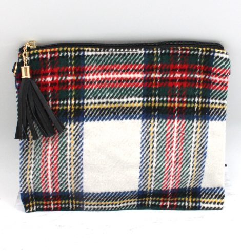 Tartan Cross Body Purse