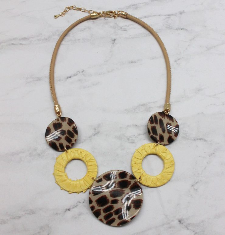 A photo of the Wild Thing Necklace product