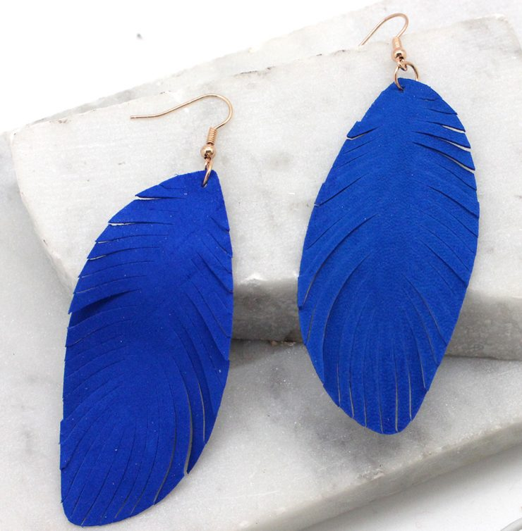 A photo of the Flying Feathers Earrings product