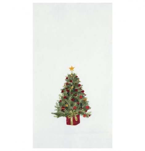 A photo of the Christmas Tree Kitchen Towel product