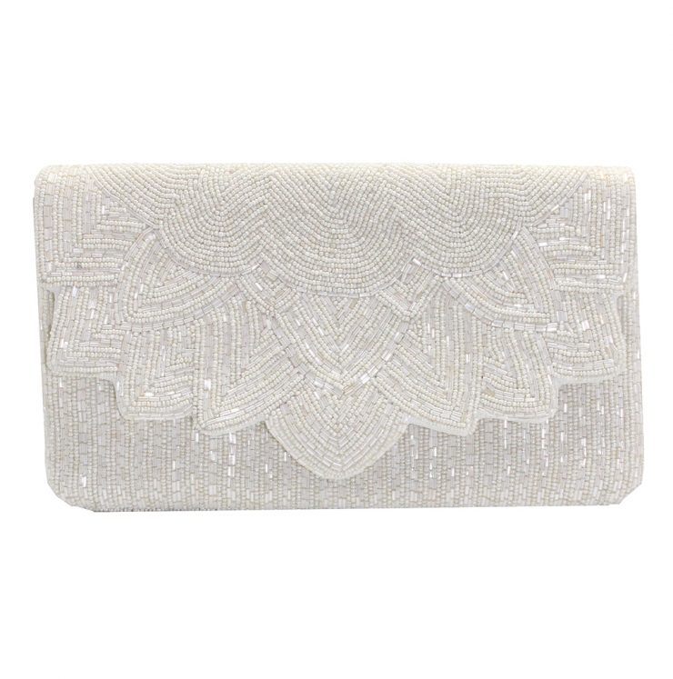 A photo of the Bridal Beaded Clutch product
