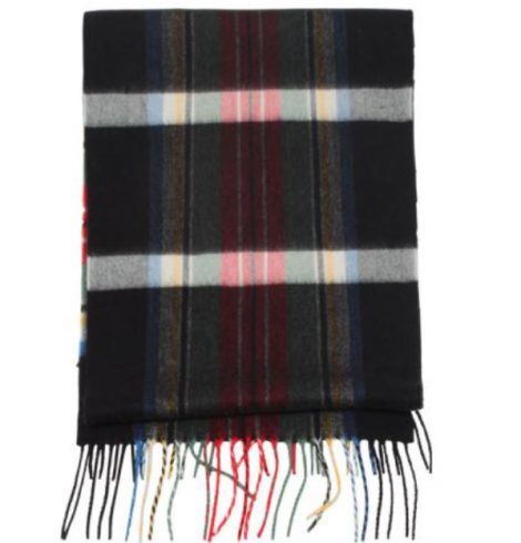 A photo of the Candy Cane Plaid Cashmere Feel Scarf product