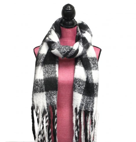 A photo of the Checkered Scarf product