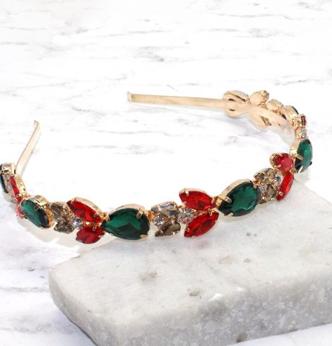 A photo of the Christmas Gem Headband product