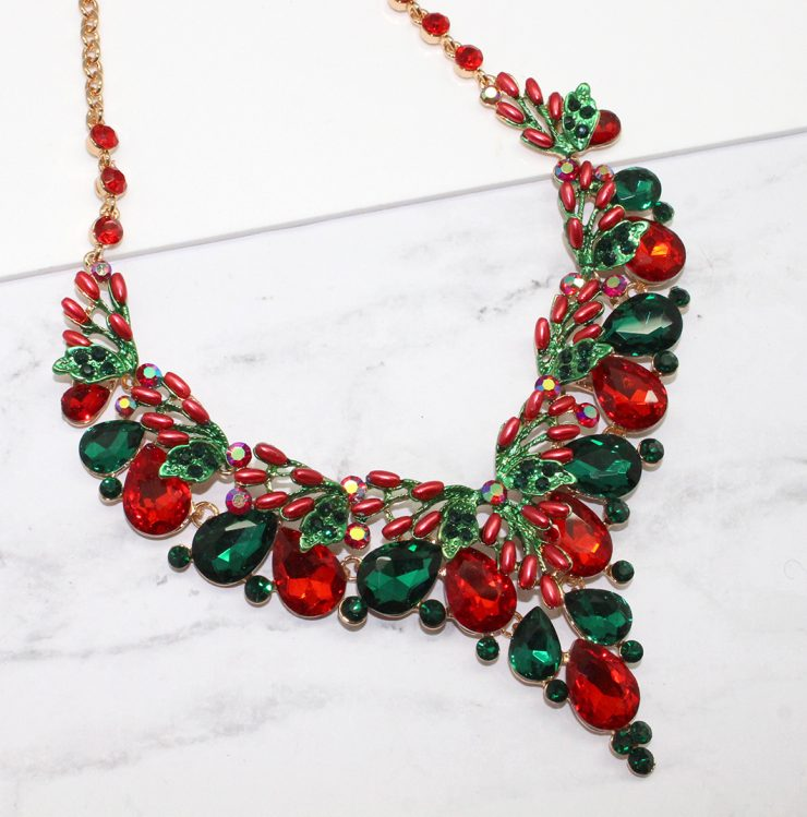 A photo of the Christmas Nights Necklace product