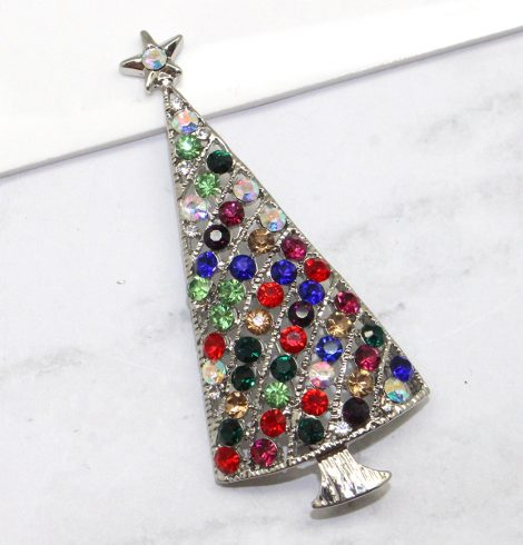 A photo of the City Christmas Tree Pin product