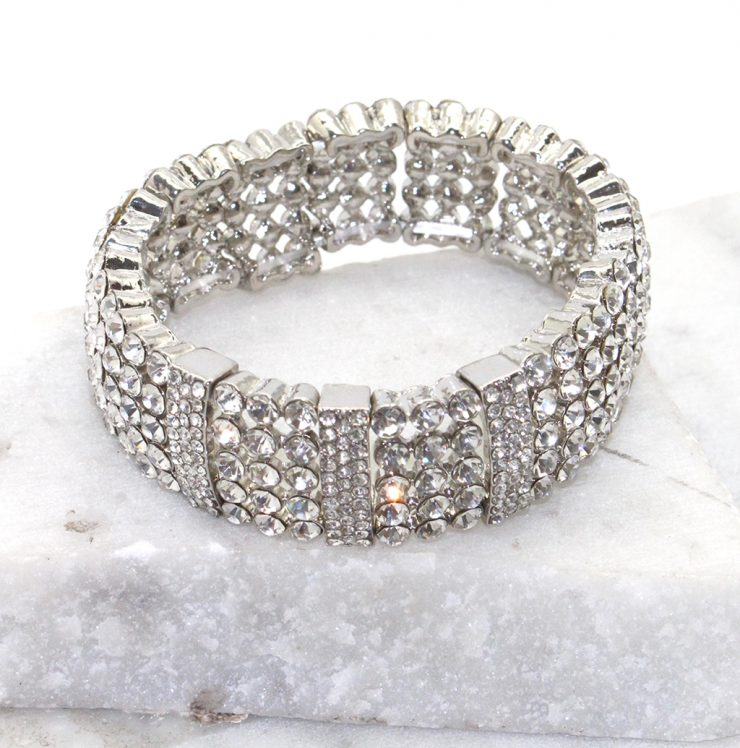 A photo of the Elegance Bracelet in Silver product