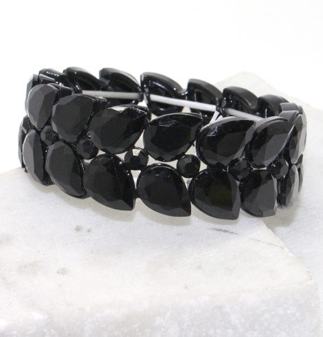 A photo of the Everly Bracelet in Black product