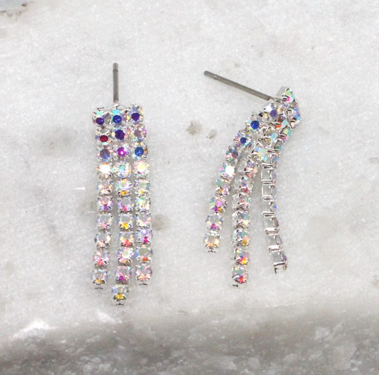 A photo of the Iridescent Beauty Earrings product