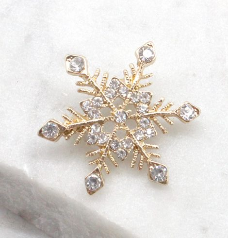 A photo of the Little Snowflake Pin product