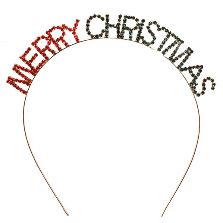 A photo of the Merry Christmas Headband product