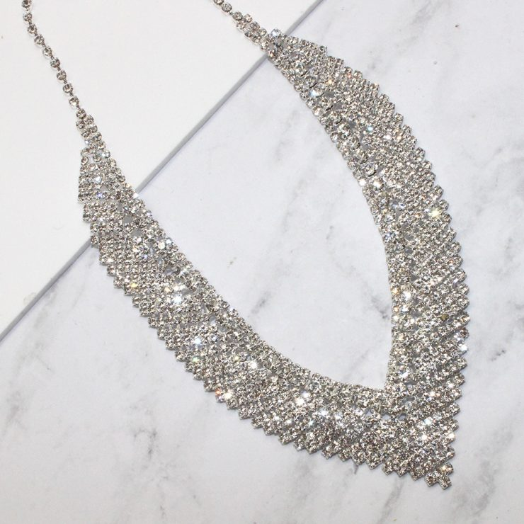 A photo of the Naya Necklace in Silver product