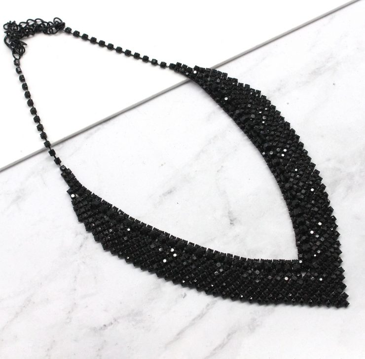 A photo of the Naya Necklace in Black product