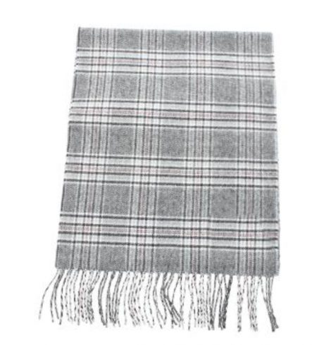 A photo of the Pink, Black and White Tartan Cashmere Feel Scarf product