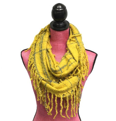A photo of the Tartan Infinity Scarf product