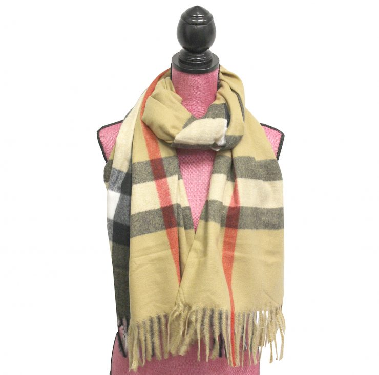 A photo of the Popular Plaid Scarf product
