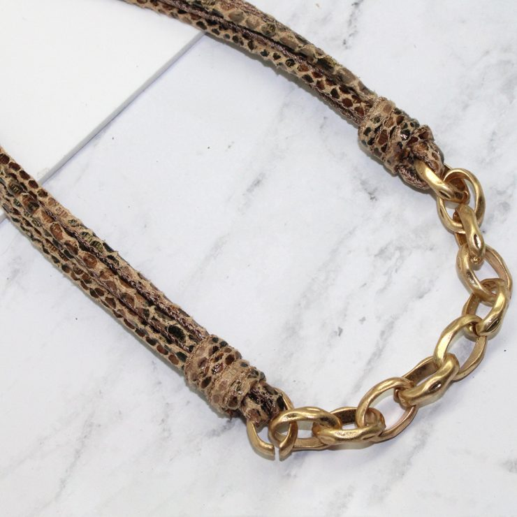 A photo of the Snake Chain Necklace product