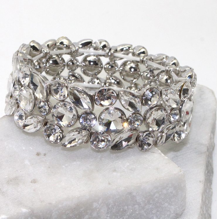 A photo of the Starry Evening Bracelet in Topaz product